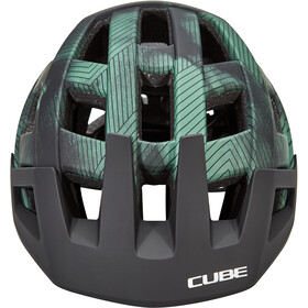 Cube Badger Helm, green
